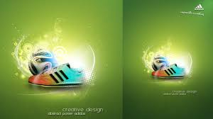 poster design with photoshop tutorial photoshop tutorial creative abstract adidas poster youtube