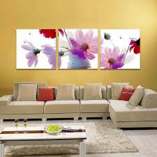 butterfly orchid flower blooming pink flower 3 panels beautiful butterfly orchid flower blooming pink flower 3 panels beautiful modern wall oil painting printed on canvas for home decor landscape wall painting office