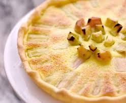 recettes cuisine marmiton tarte à la rhubarbe rapide recette de tarte à la rhubarbe rapide