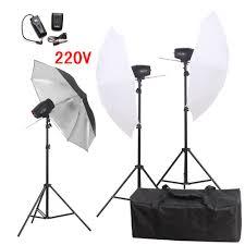 cheap umbrella lighting kit click to buy photography studio flash lighting kits 540w 220v