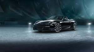 porsche boxster black edition porsche boxster 911 get black edition packages