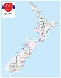 London Metro Map by Nz State Highway Metro Maps The Map Kiwi