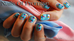 easy summer end nail art design live tutorial nails of promise