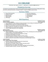 the stylish administrative assistant job resume resume format web
