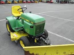 john deere 318 w 50 mower deck and 54 blade w hydraulic lift