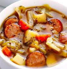 soup kitchen menu ideas so so cabbage sausage and potato soup recipes pork