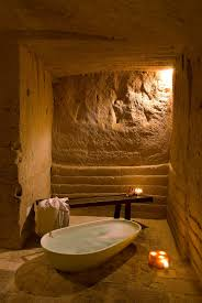 4 star hotel sextantio le grotte della civita bathrooms