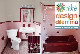 pink tile bathroom ideas pink bathrooms archives retro renovation