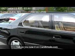 1997 lexus ls400 1997 lexus ls 400 coach edition for sale in nc