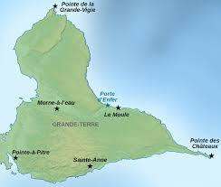 Map Of Eastern Caribbean by Grande Terre Wikipedia