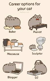 Pusheen The Cat Meme - imagine if your cat was a masseuse awesome pusheen