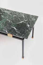 city furniture 1950s coffee table green marble