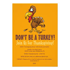 thanksgiving invitations announcements zazzle