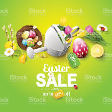 easter egg sale easter sale flyer stock vector more images of beauty in nature