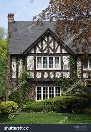 shady tudor style house vines stock photo 277099346 shutterstock