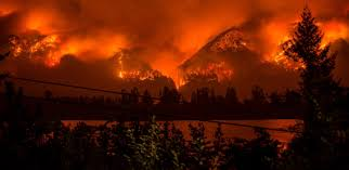 Card Wildfire Alaska by Ash Covers Oregon Cities Wildfire Smoke Chokes U S West