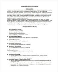 research report sle template marketing research report template word best market 2017