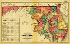 Map Of Md Maryland New Topographical Atlas Of The State Of Maryland