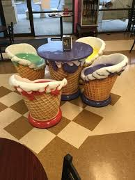 ice cream table and chairs ice cream chairs picture of big olaf ice cream and coffee cafe