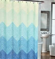 Aqua Blue Shower Curtains Cotton Shower Curtains Shower Curtains Outlet