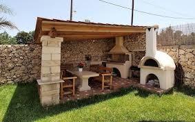 cuisine de jardin en cuisine d ete exterieure en 4 en naturelle abri de
