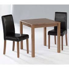 winsome groveland 3pc square dining table with 2 chairs by oj
