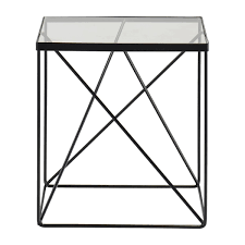 modern side table life interiors lexie side table black modern side tables for