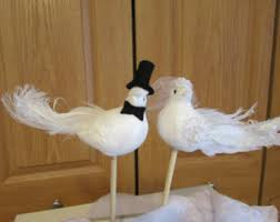birds wedding cake toppers bird cake toppers etsy