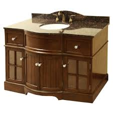 48 Bathroom Vanity With Granite Top 48 Inch Bathroom Vanity With Top And Sink Genersys