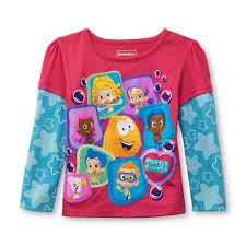 nickelodeon bubble guppies toddler u0027s graphic t shirt