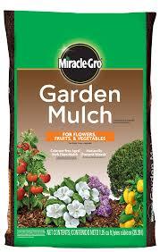 miracle gro garden mulch garden landscaping