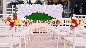 wedding backdrop rental singapore paper flower backdrops for the wedding singapore
