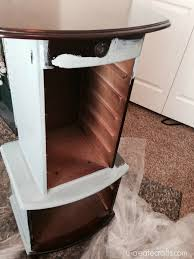 Distressed Jewelry Armoire Jewelry Armoire Makeover With Valspar Chalky Finish Paint U Create