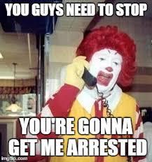 Ronald Mcdonald Meme - ronald mcdonald temp meme generator imgflip