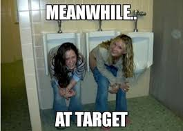 Bathroom Meme - target bathroom meme