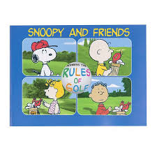 snoopy u0026 friends address rules golf usga publications