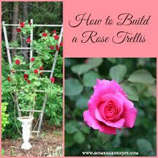 Diy Trellis Arbor How To Build A Climbing Rose Trellis Home Garden Joy