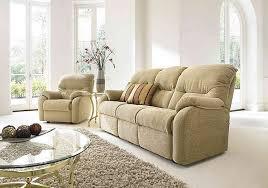 G Plan Upholstery Mistral 3 Seater Fabric Recliner Sofa G Plan Furniture Village
