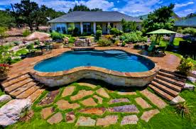 decoration attractive above ground pool backyard ideas design