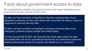 Half Of The United States Microsoft U0027s Commitment To Privacy Principles And Practices