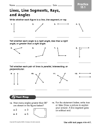 lines rays and line segments worksheets all worksheets lines line segments and rays worksheets free