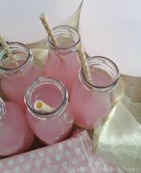 baby shower things pink white gold baby shower pleasure in simple things