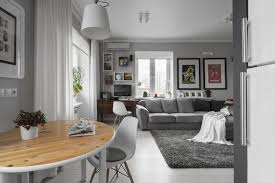 Home Decorating Ideas For Small Apartments Simple Gray And White Decorating Ideas For Small Apartments