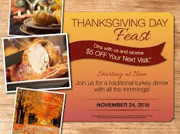 thanksgiving day dinner menu deals 24hr restaurant catering morris il r place family eatery