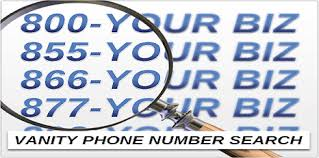Vanity Phone Numbers Search Call Tracking