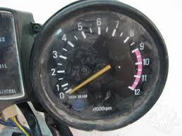 1981 1982 1981 yamaha xs400 xs850 gauge assembly speedometer tac