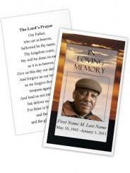 memorial card templates