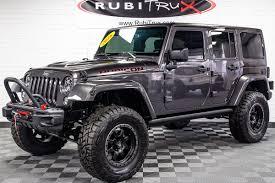rubicon jeep 2016 owned 2016 jeep wrangler rubicon hard rock unlimited granite