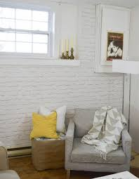 the complete guide to designing with faux brick wallpaper