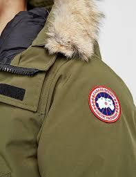 canada goose langford parka black mens p 34 canada goose langford padded parka jacket tessuti